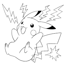 Fun Pokemon Pikachu Coloring Pages Free 7 Of Coloring