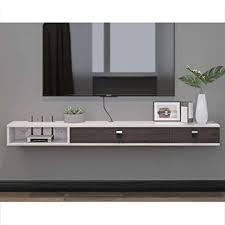 floating shelf wall mounted tv