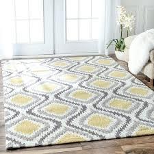 yellow and grey rug handmade modern trellis sunflower yellow rug 4 x 6 yellow grey rugs