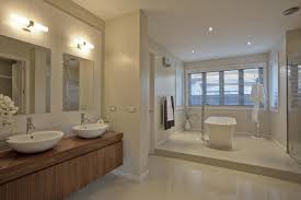 Small Picture Beautiful Bathroom Interior In New Luxury Home Stock Photo