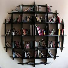 Home Design Hanging Bookshelf For Contemporary House Interior