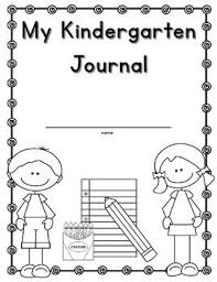 Kindergarten Writing Pages My Kindergarten Journal Freebie Cover And Blank Writing Pages