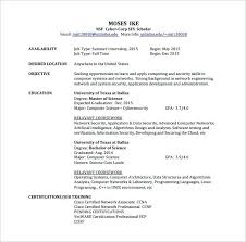 Sample Ccna Resume Resume Sample Network Engineer Resume Sample ...
