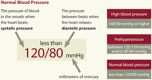 Know Your Numbers Chart Blood Pressure Know Your Numbers Ecvs