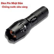 Đèn Pin Led Siêu Sáng SML - T6 Cao Cấp, Hợp Kim Thép Chống Nước, Pin Có Thể  Sạc, Hàng Loại 1 Full Hộp Kèm Sạc giá cạnh tranh