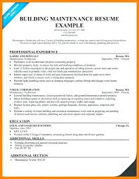 Sample Resume For Maintenance Worker Zromtk Magnificent Resume For Maintenance Worker