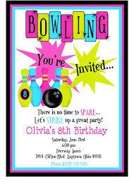 Bowling Party Invitation Bowling Party Invitations Rome Fontanacountryinn Com