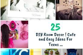 25 diy room decor cute and easy ideas for teens