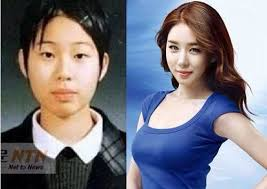 this actress went from being a boy to a hot celebrity the difference is startling although i think a lot of it does have to do with that fact that she
