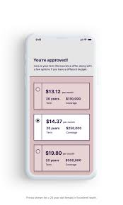Term Life Insurance Rates Chart This App Will Create Your Will Quickly Online