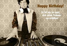 Lustige Sprüche Postkarte Happy Birthday Grusskartenshopde