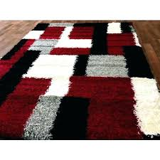 gray white rug red black and white rug black and red area rugs gray grey rug gray white rug modern red