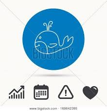 Whale Icon Largest Vector Photo Free Trial Bigstock