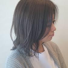 メガネ女子に似合うヘアアレンジ20選ポニーテールストレートヘアボブ