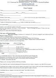 Event Planner Contract 4 Restaurant Event Contract Templates For ...