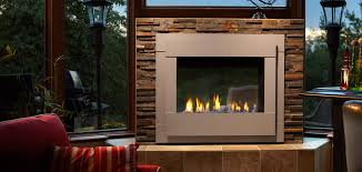 modern gas stoves. Twilight Modern Interior View With Gray Contemporary Front Modern Gas Stoves