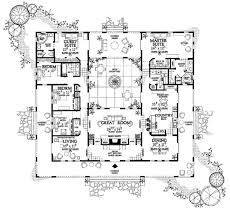 802 best house plans images on pinterest floor plans, home plans Southern Living Vintage Lowcountry House Plans i like the layout inner courtyard needs a garage over by the kitchen could do away with porches and make those rooms bigger a little small home plans One Story House Plans Southern Living