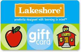 Lakeshore Gift Card: An ideal way to thank a special teacher ...