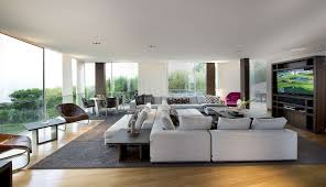 Living Room With Chaise Lounge Decorations The Open Space Living Room Concept Fashionable