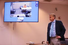 Defense attorney Brent Percival argues during sentencing for ...