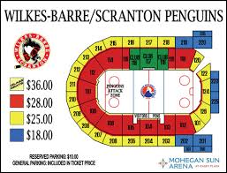 Casey Plaza Seating Chart Hershey Bears Vs Wb S Penguins Mohegan Sun Arena