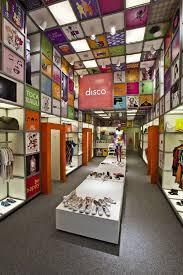 innovative store concept interior design disco experience store