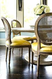 round marble top dining table with cane back chairs and inside chair decorating french australia wit