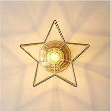 pentagram ceiling lamp bedroom kids h65