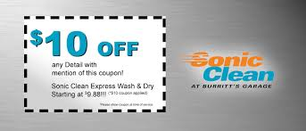 sonic clean detail coupon