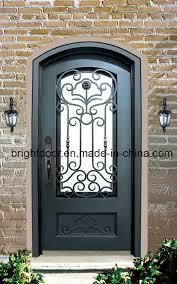 front door gate. Cheap Front Door Iron Wrought Main Gate Design