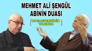 Mehmet Ali Şengül Abi Hocaefendinin Yanında Dua Ediyor - YouTube