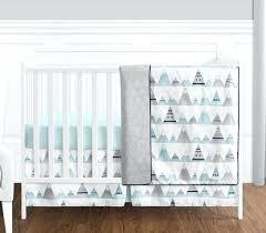 navy blue crib bedding navy blue aqua and grey mountains baby boy or girl uni dark navy blue crib bedding