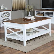 belham living hampton lifttop coffee table  whiteoak  hayneedle
