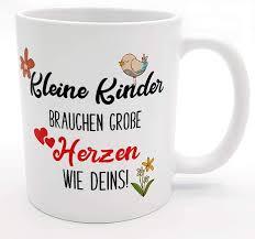 Danke Tasse Erzieherin Abschiedsgeschenk Kindergarten Tassen Mit