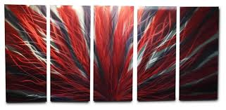 large red metal wall art mesmerizing metal wall art decor abstract contemporary modern radiance large inspiration on red metal wall art bed bath and beyond with wall plate design red metal wall art bed bath and beyond