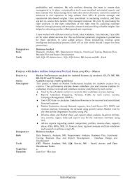 Lead Business Analyst Resume Of Nitin Khanna