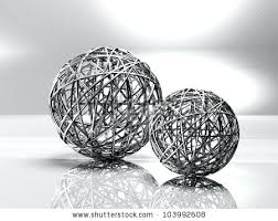 Decorative Sphere Balls Extraordinary Decorative Sphere Balls White Natural Beauty Handmade Spheres Living