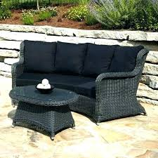 outdoor furniture wicker. Black Wicker Outdoor Furniture For Patio With Red Cushions Garden Full Size