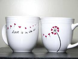 Hand Painted Cups Custom Order by PrettyMyDrink on Etsy, $52.00