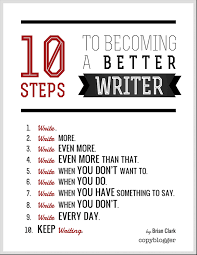 10 Steps To Writing An Essay 10 Steps To Becoming A Better Writer Free Poster Copyblogger