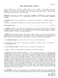 Property Purchase Agreement Template Enchanting Printable Purchase Agreement Template Simple Real Estate Sales