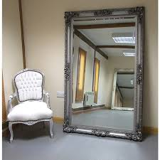 paris extra large shabby chic antique style leaner wall mirror within mirrors designs 3