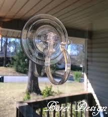 easy diy home decor hanging monogram wreath hang on glass door 2 hanger how to window