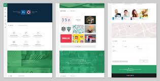 Parallax Website Template Delectable ScrollSide One Page Parallax Scrolling Template By WojciechWyszynski