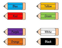 These can be used for other languages or other writing styles, such as d'nealian, or use them for modeled writing activities. Colors Word Chart Printable By The Junior School Shop Tpt