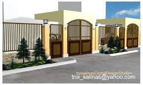 Fence Gate Design Wonderful Inspiration Fence Designs For Homes In