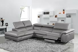 your bookmark products 2 160 00 divani casa maine modern dark grey eco leather sectional