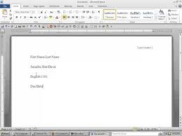 13 Best Photos Of Mla Format Header Mla Format Heading And Header