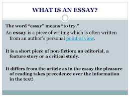 essay structure by kristina yegoryan ppt video online  2 what is an
