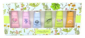 crabtree evelyn nourishing hand therapy gift set 6 x 0 9 oz in pink or blue gift box amazon ca beauty